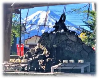 富士山が望めます