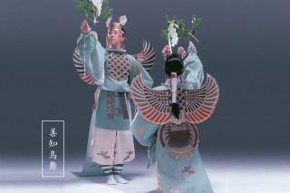 善知鳥神社の善知鳥舞