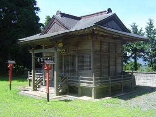 早馬神社奥宮本殿