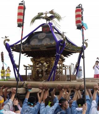 取手 八坂神社 例大祭(祇園祭)