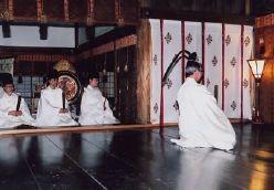 例祭宵宮祭・献詠式