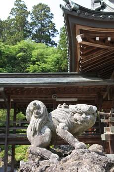 筑波山神社 狛犬