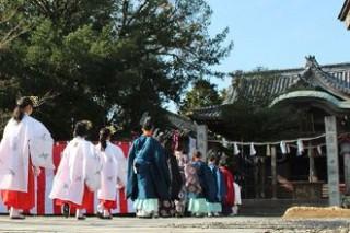 秋季例大祭・例祭式